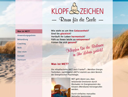 Screenshot klopfen-hh.de